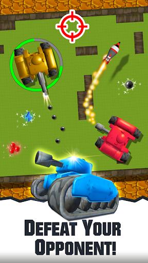 2 player tank wars screenshot 3