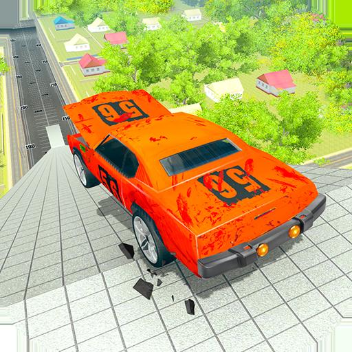 Simulador de acidente de carro 2020: acrobacias de