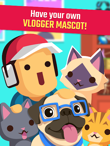 Vlogger Go Viral: Streamer Tuber Idle Life Games  screenshots 9