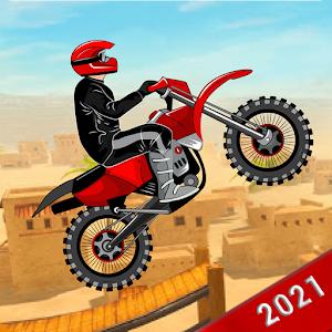 Xtreme trail 3D Racing Offline Dirt Bike Stunts 8.0 by GamesBracket logo
