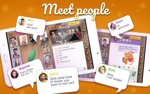 Kiss Me: Spin the Bottle for Dating, Chat & Meet 1.0.40 screenshots 11