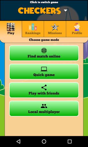 Checkers Online - Duel friends online!  screenshots 11