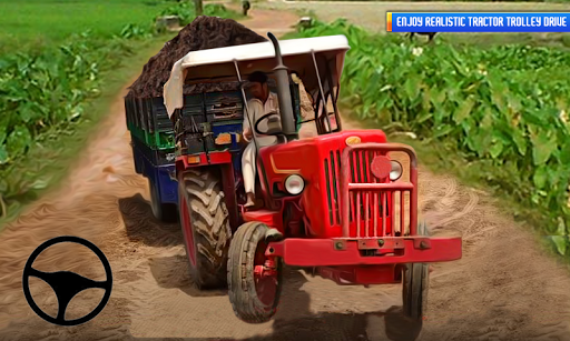 Tractor Trolley: Offroad Driving Tractor Trolley 1.5 screenshots 2