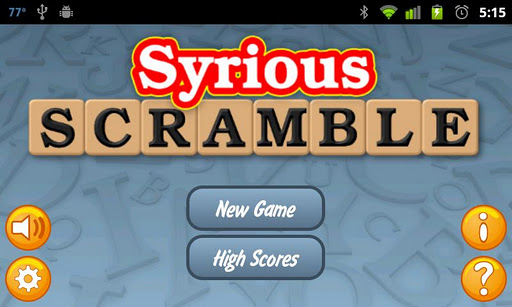 Syrious Scramble® Free 2.0.21 screenshots 1