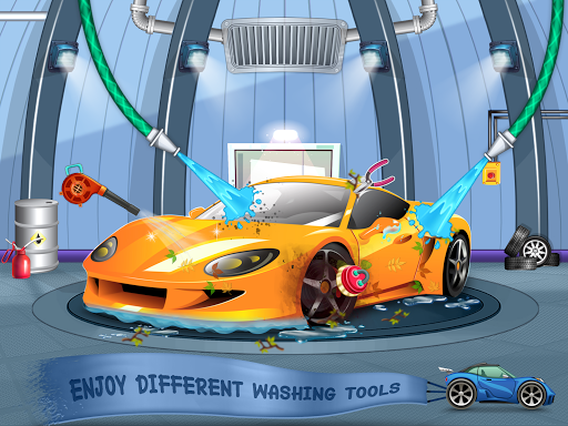 Kids Car Wash Service Auto Workshop Garage 2.1 screenshots 5