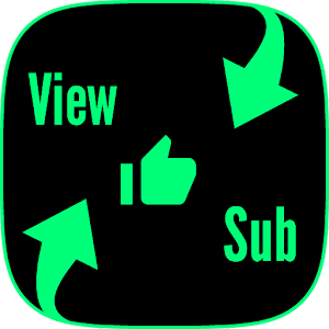View4sub free subscribes likes views to channel 1.12 by diAwesome logo