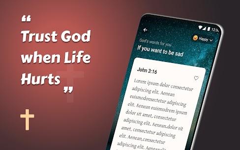 King James Bible (KJV) – Free Bible Verses   Audio Apk Download 5