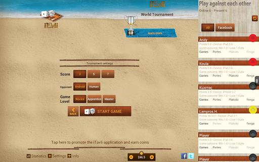 iTavli-All Backgammon games 5.2 screenshots 10