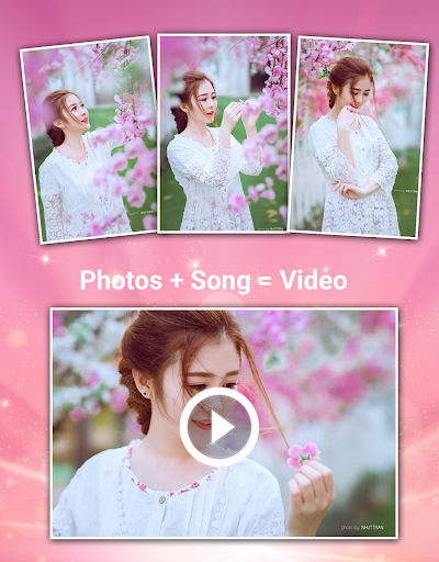 Video Maker Photos With Song  screenshots 1