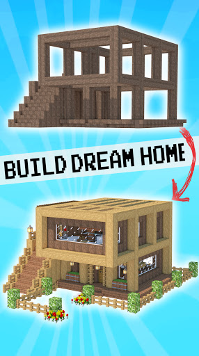 House Craft 3D - Idle Block Building Game screenshots 1