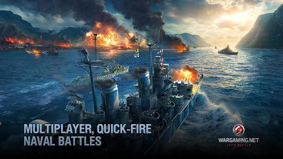 World of Warships Blitz: Gunship Action War Game Mod Apk