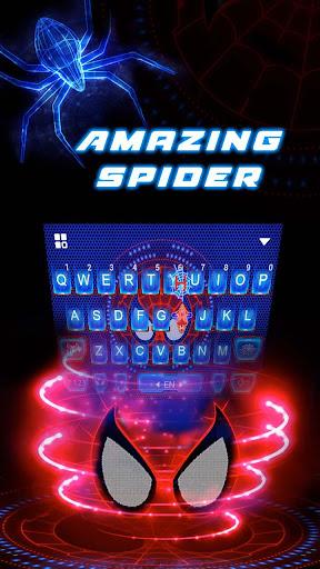 amazing spider keyboard theme screenshot 3