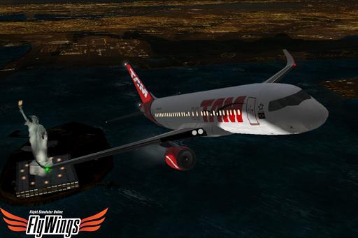 Flight Simulator Night - Fly Over New York NY 1.0.1 screenshots 7