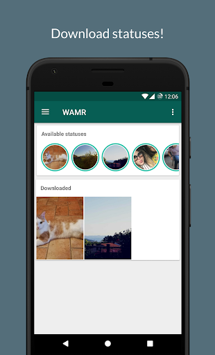 Foto do WAMR - Recover deleted messages & status download