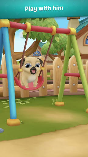 My Virtual Pet Dog ud83dudc3e Louie the Pug 1.9.1 screenshots 2