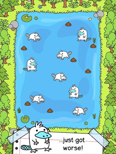 Platypus Evolution - Crazy Mutant Duck Game android2mod screenshots 7