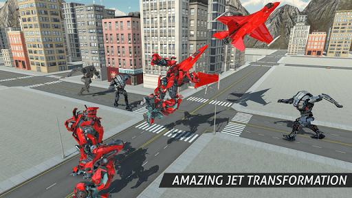 Air Robot Game - Flying Robot Transforming Plane  screenshots 2