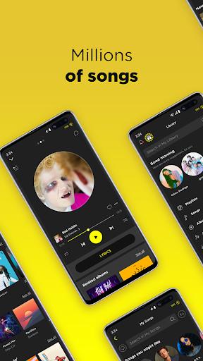 TREBEL - Free Music Downloads & Offline Play android2mod screenshots 1