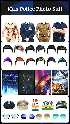 Police Photo Suit 2021 : Women & Men Police Suit  screenshots 2