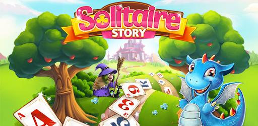 Screenshot of Solitaire Story Tri Peaks