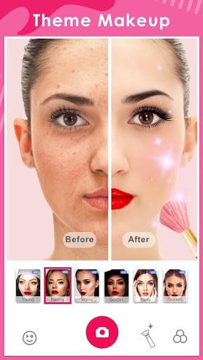 Makeup Camera-Selfie Beauty Filter Photo Editor  Screenshots 1