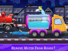 Kids Road Cleaner Rescue Game