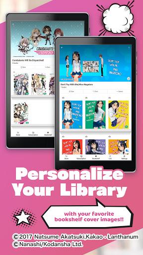 BOOKu2606WALKER - eBook App For Manga & Light Novels android2mod screenshots 12