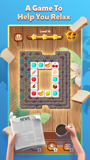 Tile World - Fruit Candy Puzzle  screenshots 4