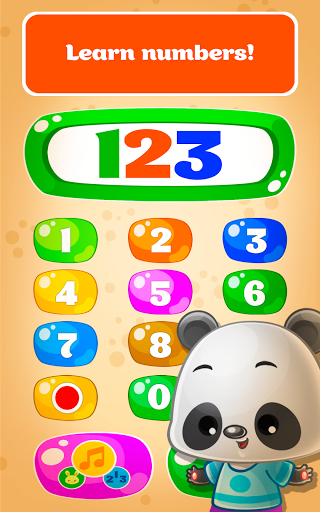 Babyphone - baby music games with Animals, Numbers  screenshots 11