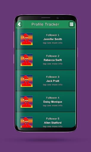 Profile tracker 23 Screenshots 1