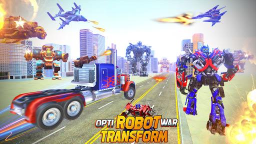 Multi Robot transform : Truck Robot war 1.4 screenshots 1