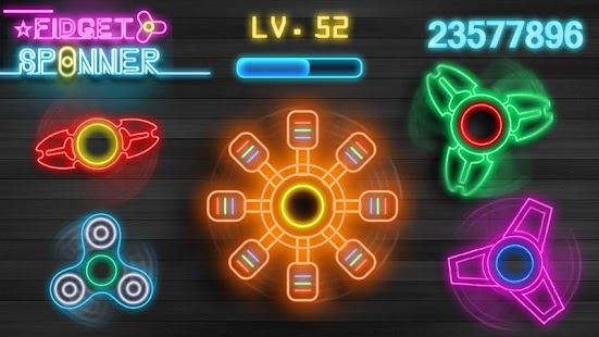 Fidget Spinner Screenshot