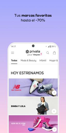 Privalia - Outlet de moda con ofertas de hasta 70% android2mod screenshots 1