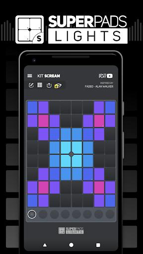 SUPER PADS LIGHTS - Your DJ app  Screenshots 1
