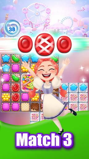 Candy Go Round - Sweet Puzzle Match 3 Game Apkfinish screenshots 17