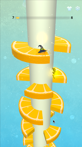 Jump and Fall Ball 3D android2mod screenshots 2