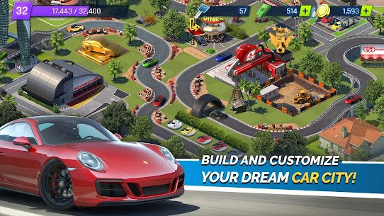 "Download Overdrive City – Car Tycoon Game attractive management game ""City of Cars"" Android! 2"