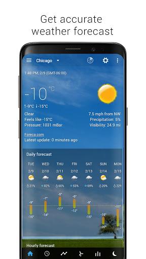 Sense Flip Clock & Weather  Screenshots 10