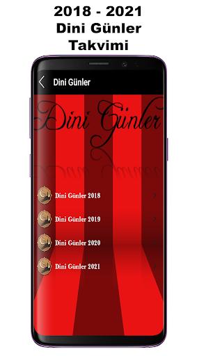 Takvim Resmi Tatiller Dini Gu00fcnler  Screenshots 4