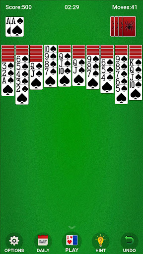 Spider Solitaire 1.5.205 screenshots 1