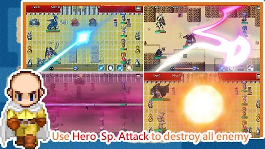 Unlimited Skills Hero Mod Apk (Unlimited Money) 4