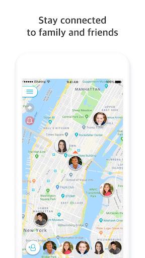 iSharing - GPS Location Tracker for Family  screenshots 1