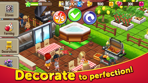 Food Street - Restaurant Management & Food Game  screenshots 8