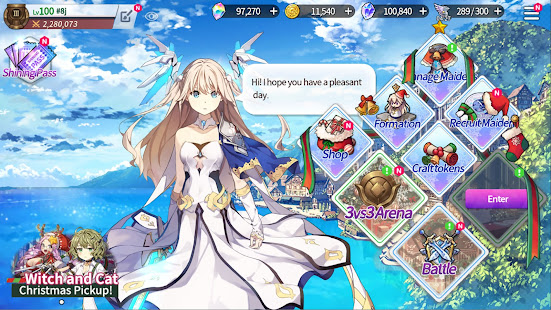How to hack Shining Maiden for android free
