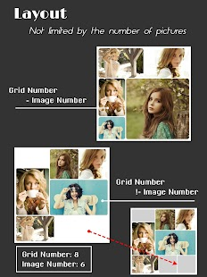 Collage Maker (Layout Grid) - PhotoFancie Screenshot