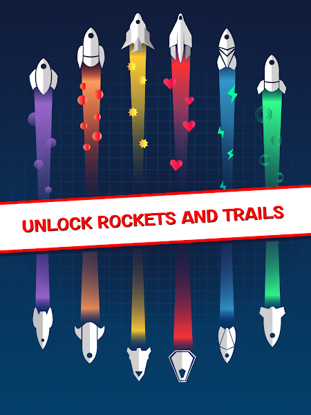 Racey Rocket: Arcade Space Racing