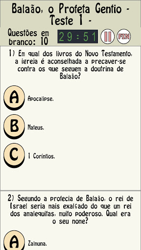 O jogo de perguntas bu00edblia screenshots 13