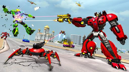 Spider Robot Game: Space Robot Transform Wars 1.0 screenshots 6