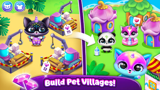 Fluvsies Pocket World - Pet Rescue & Care Story apkpoly screenshots 7