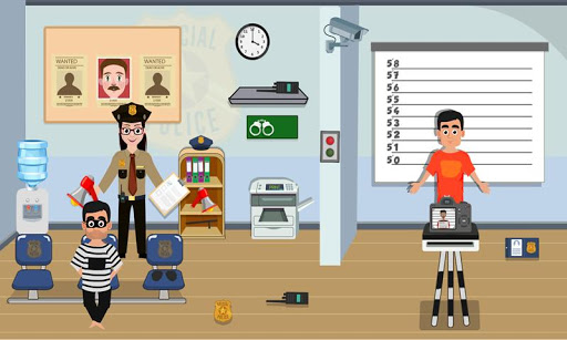 Pretend Play My Police Officer: Stop Prison Escape 1.0.3 screenshots 1
